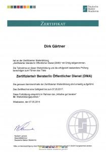Dirk_Gaertner_Zertifikat_Berater_oeffentlicher_Dienst_Beamte_Krankenversicherung